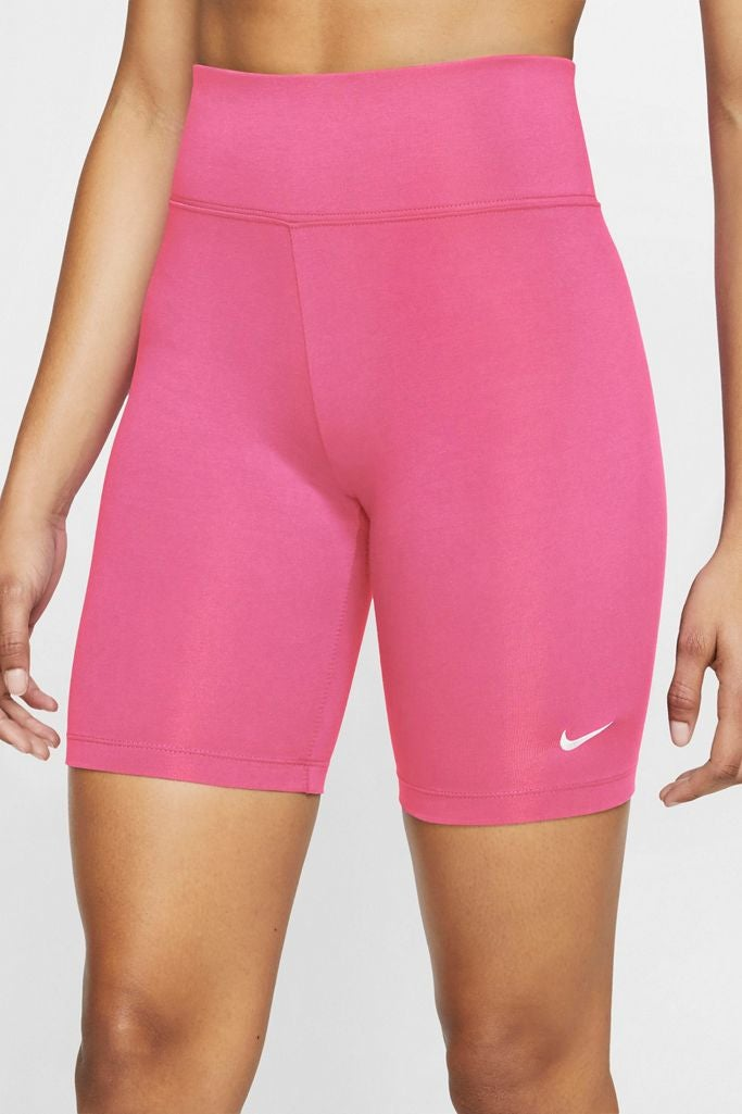 Hot pink nike bike shorts
