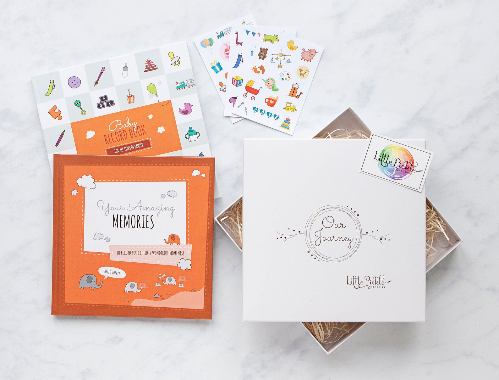 the baby book gift box set