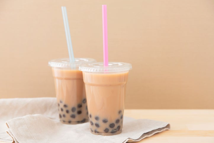 Black tea boba