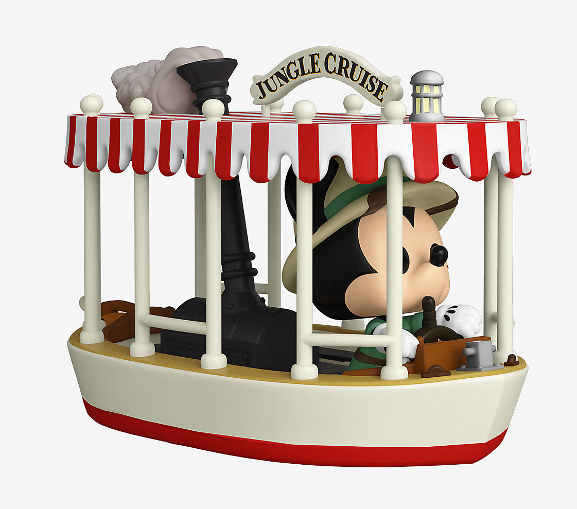 mickey dreaming a jungle cruise boat