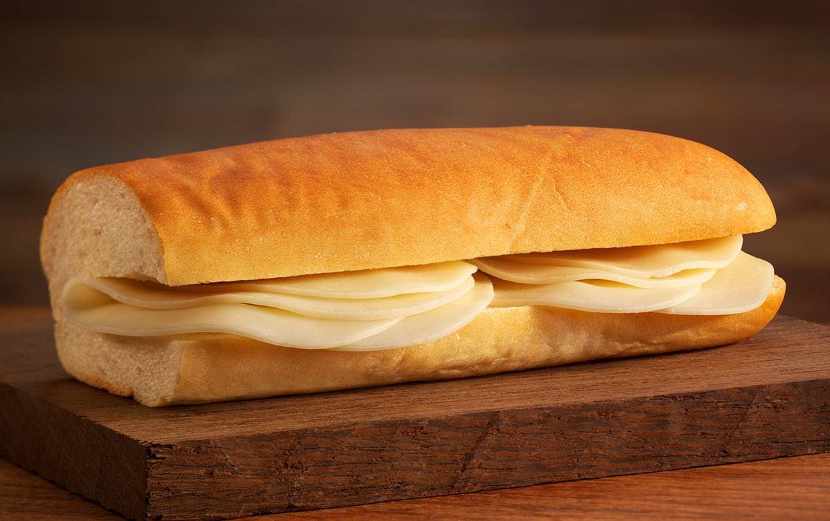 A cheese sandwich