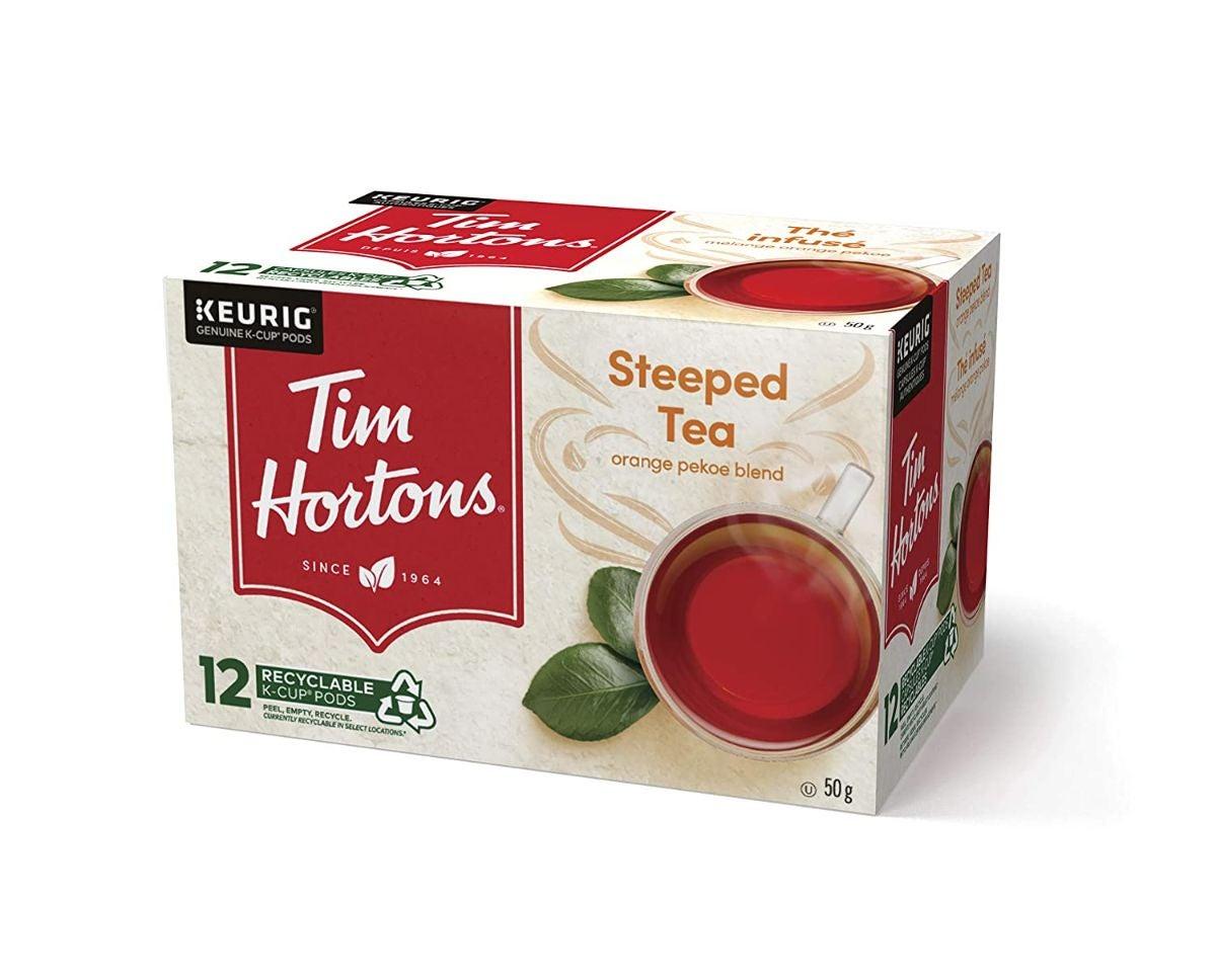 Box of tea K-cups