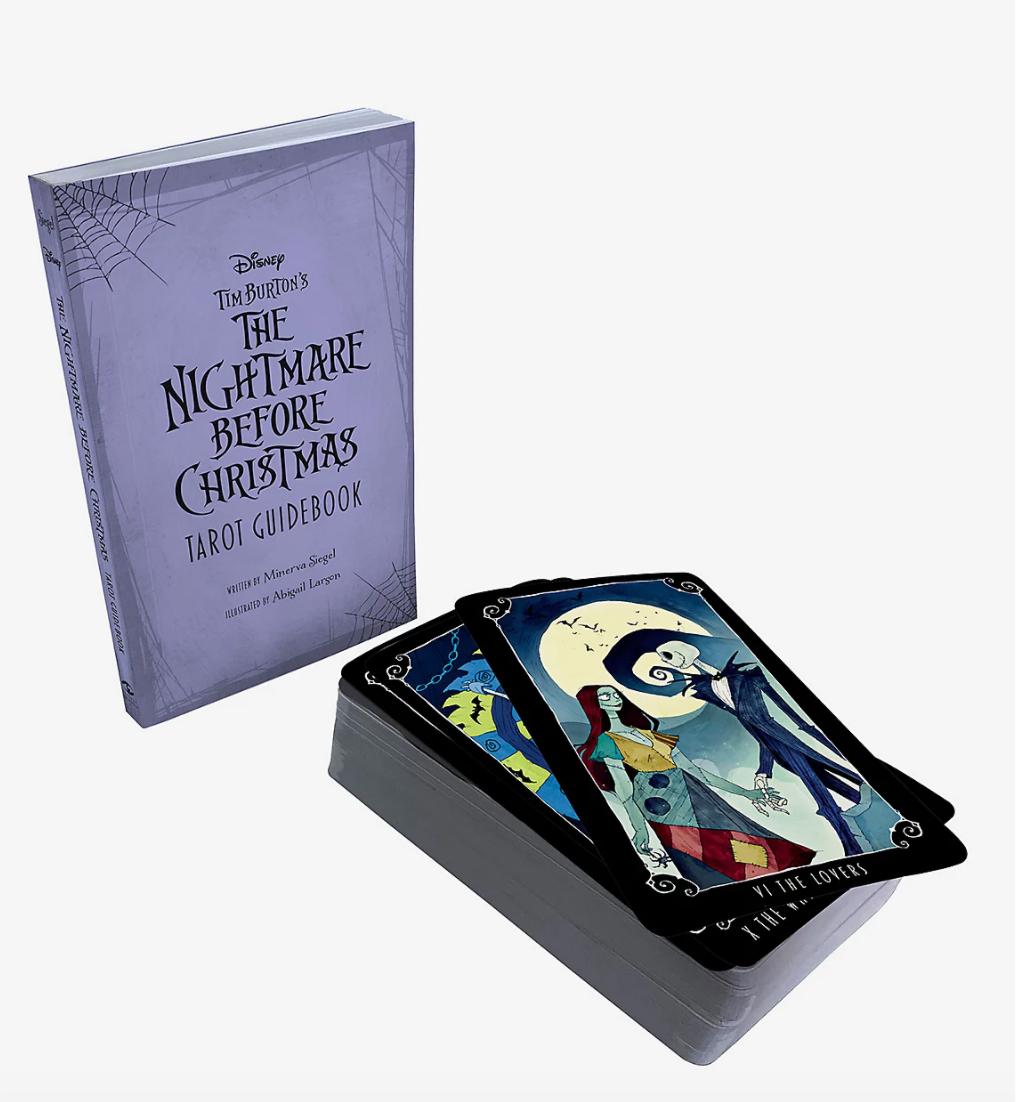 the nightmare before christmas tarot cards