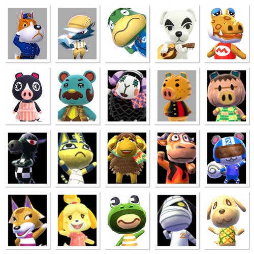 Quiz How Many Animal Crossing Characters Can You Remember