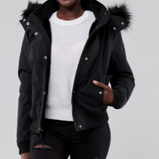 A dark jacket that gives off more serious vibes