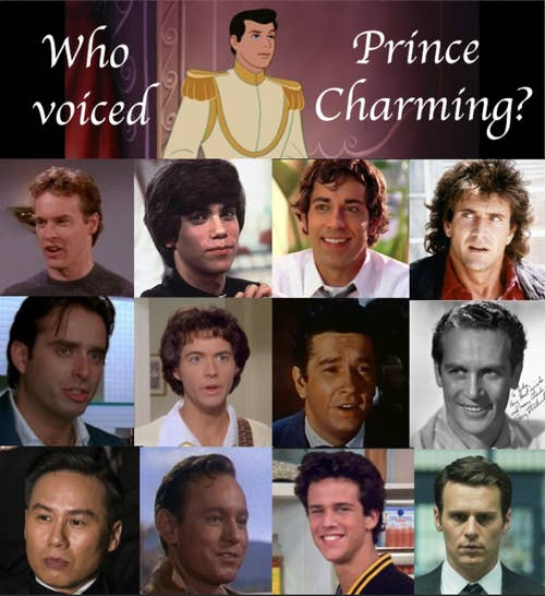 Disney Quiz Match The Prince To The Voice Actor