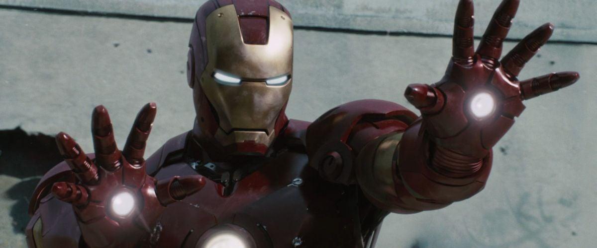 Iron Man readies his blasters