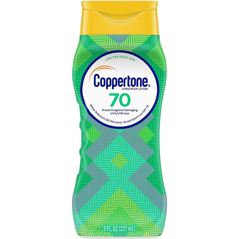 the sunscreen