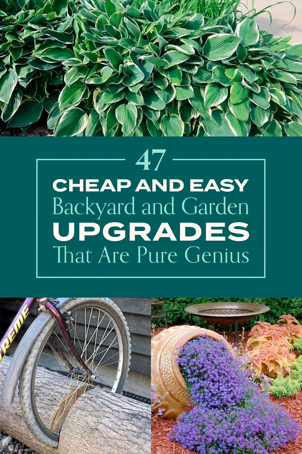 47 Cheap And Easy Backyard And Garden Upgrades That Are Pure