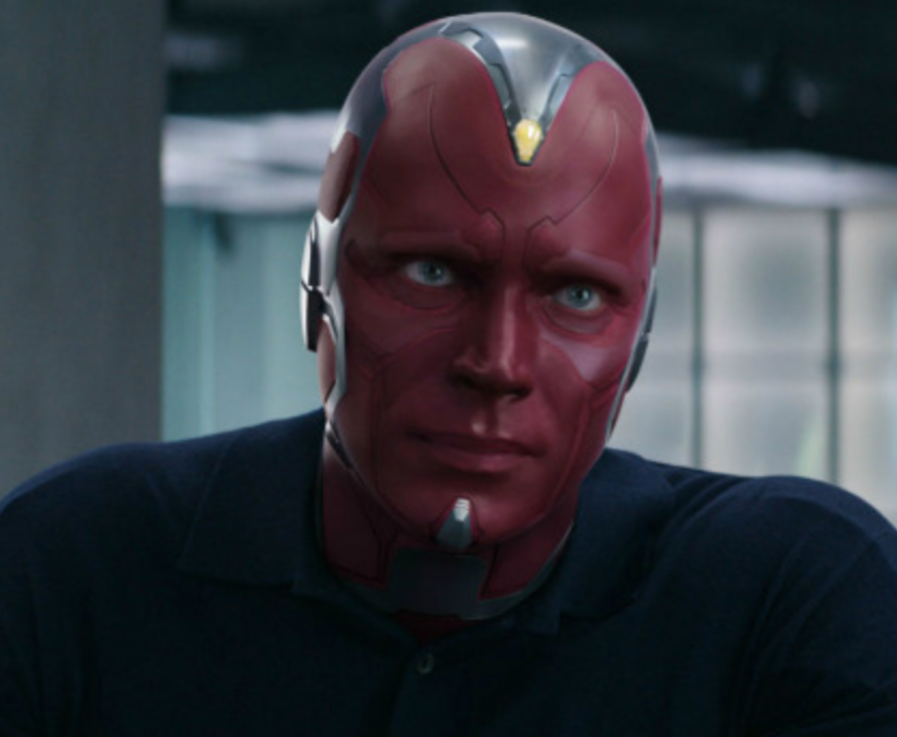 """Paul Bettany as Vision in the movie """"Captain America: Civil War."""""""