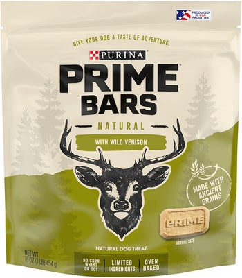 the bag of venison treats