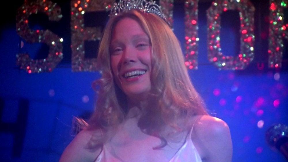 """Sissy Spacek as Carrie in """"Carrie"""""""
