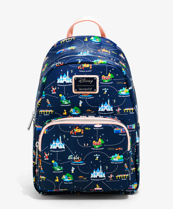 the backpack facing forward