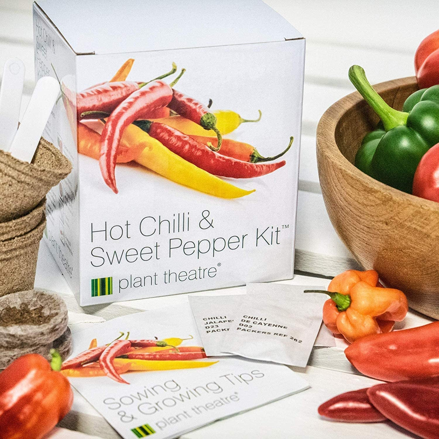 Plant Theatre's chili and pepper kit
