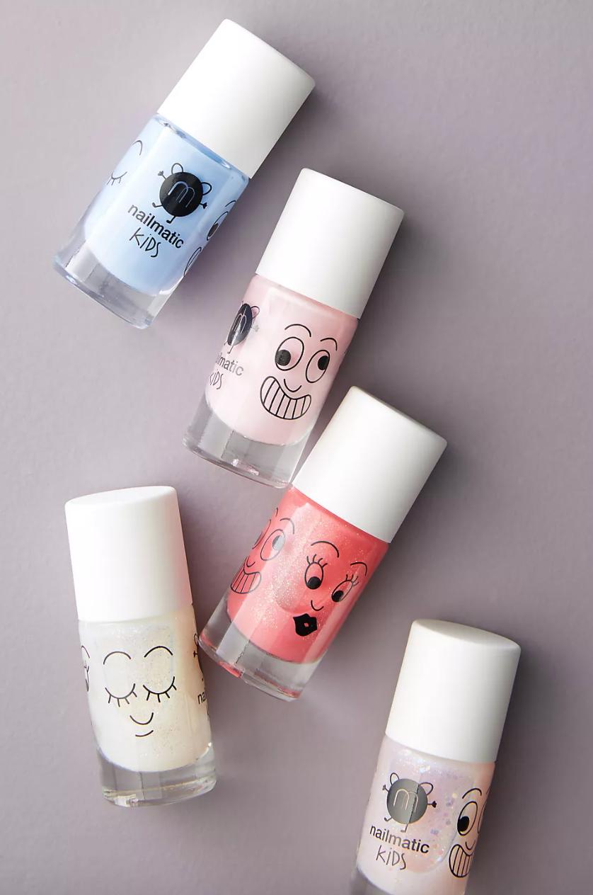 various nail polish bottles