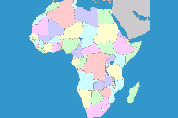 If You Can Name More Than 40 Out Of 54 African Countries In UNDER