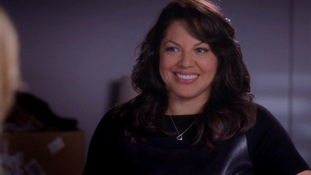 Callie smiles
