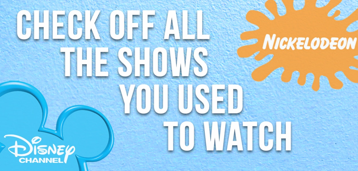 Did You Watch More Nickelodeon Or Disney Channel As A Kid?