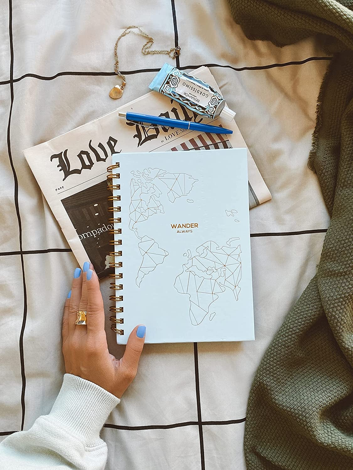 the travel planner book