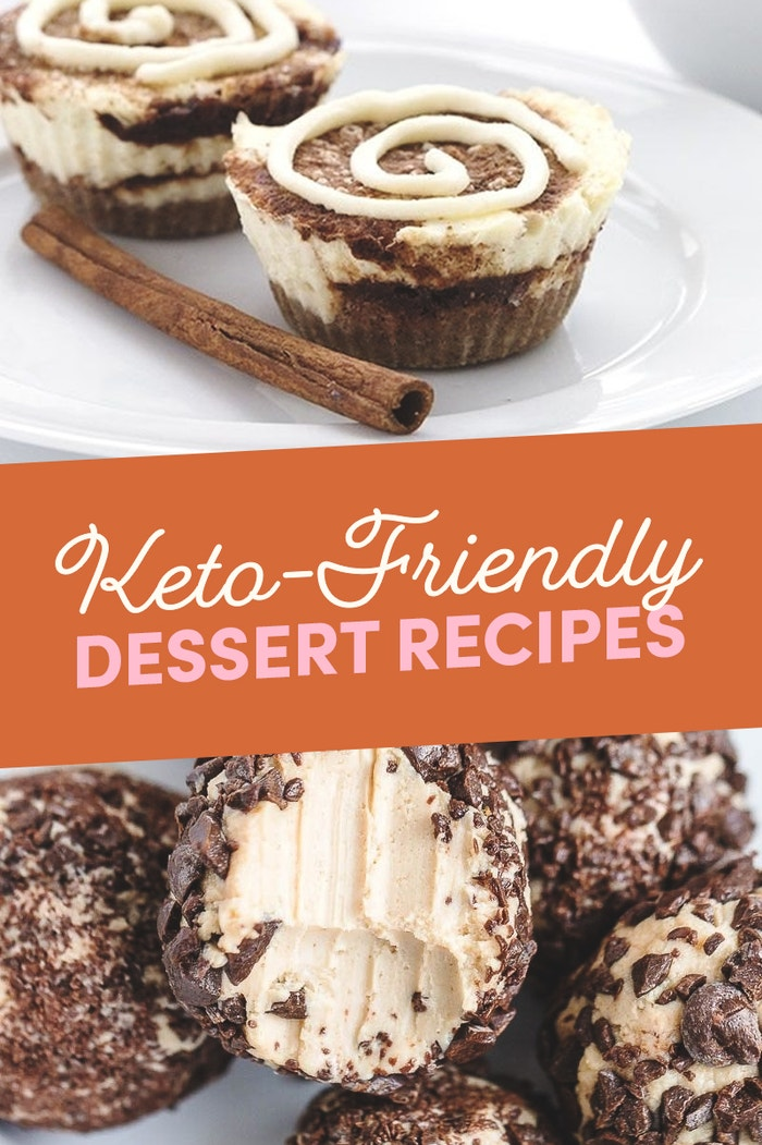 Keto-Friendly Dessert Recipes Size Height