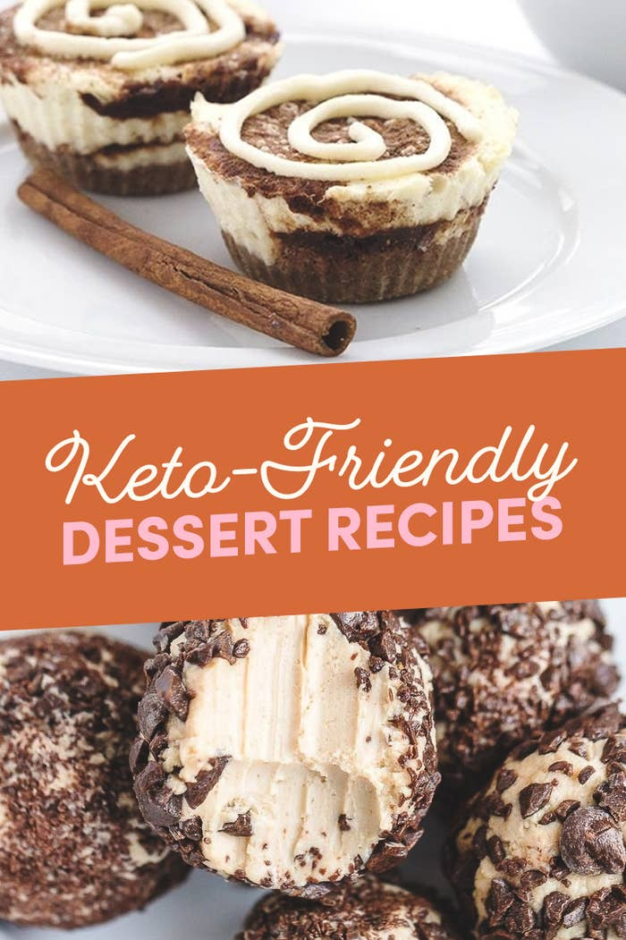14 Low-Carb Keto-Friendly Dessert Recipes