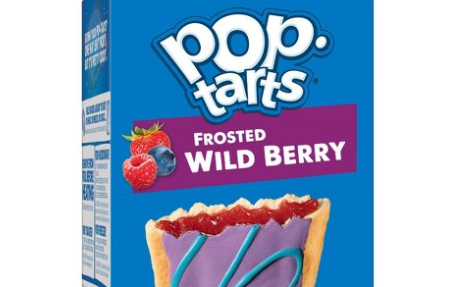 a box of pop-tarts