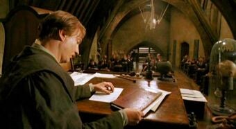 Lupin teaches class