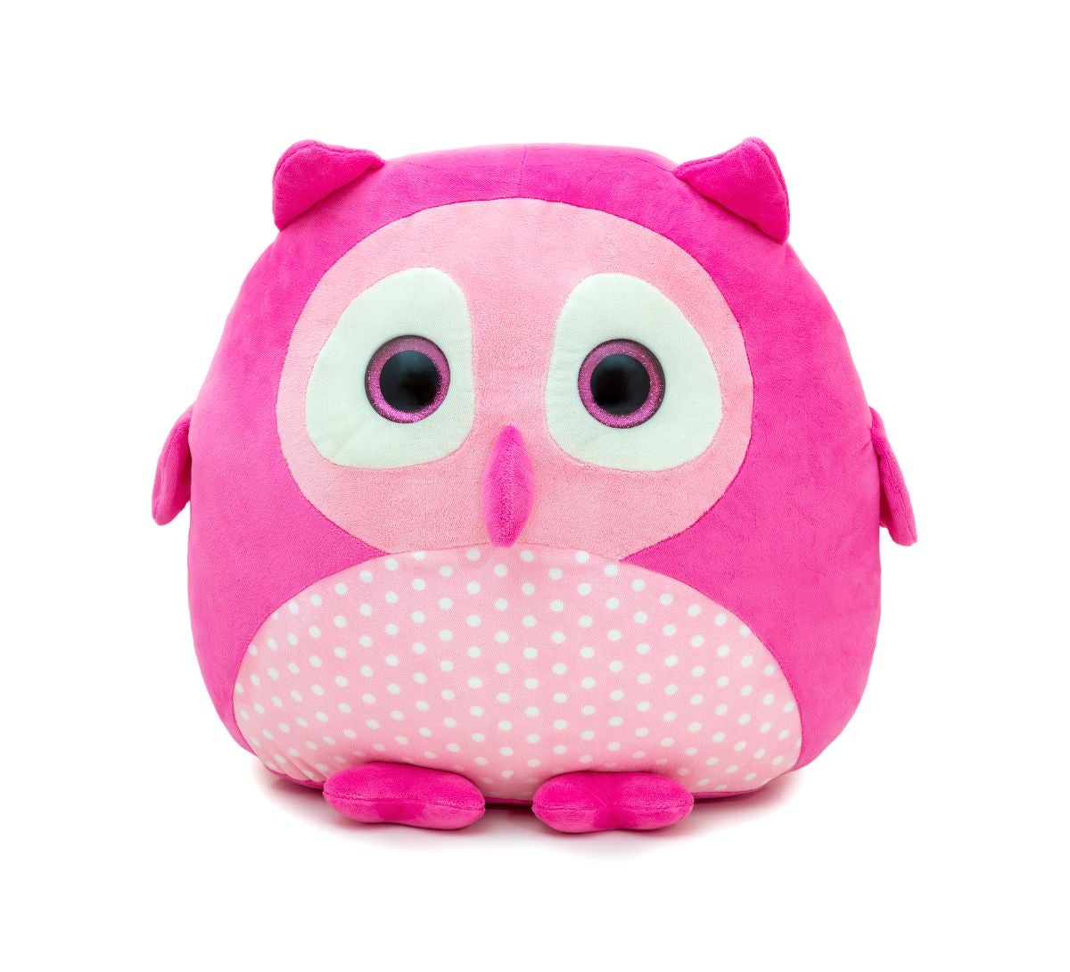 Soft plushie in the shape of an owl