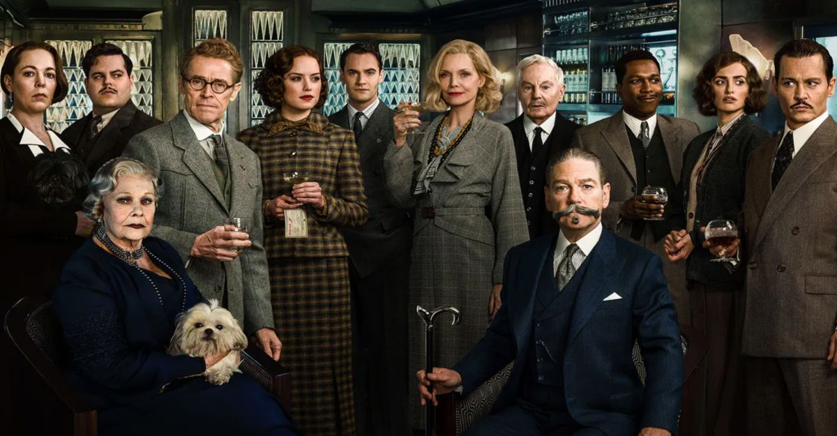 A group of men and women in suits