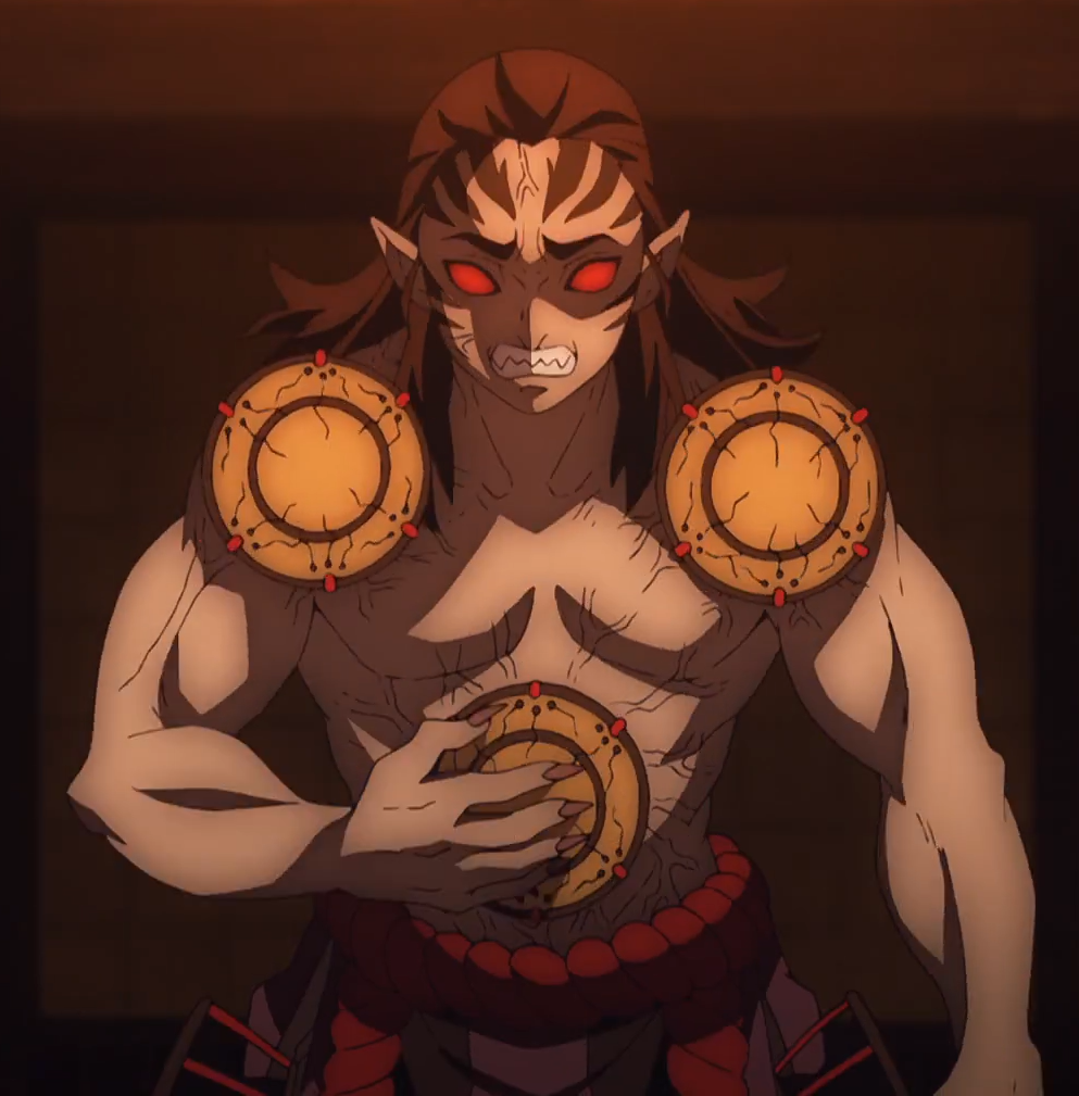 animated man with muscles