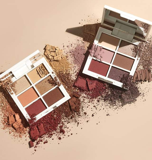 the earth tone palettes in warm and cool versions