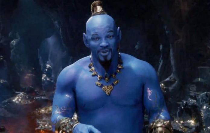 "Will Smith as the Genie in ""Aladdin"""