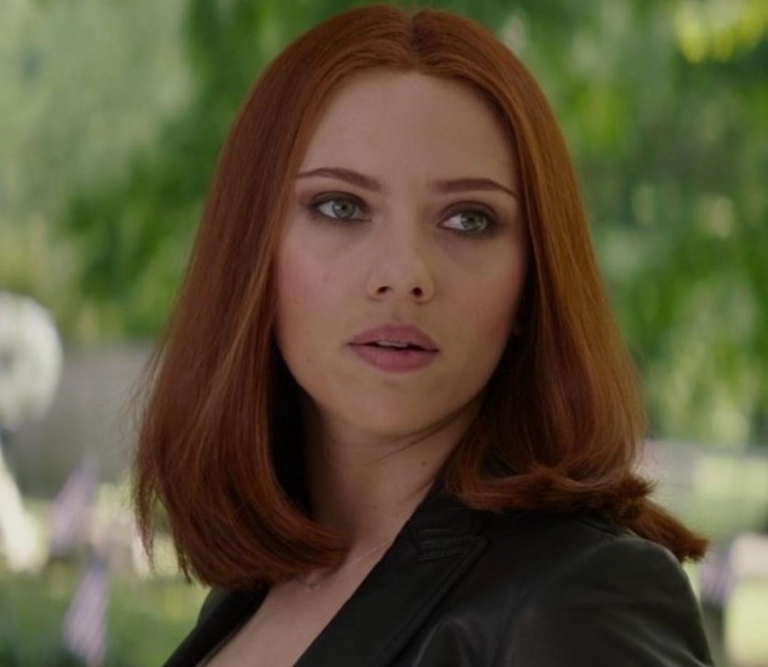 "Scarlett Johansson as Natasha Romanoff in the movie ""Captain America: The Winter Solider."""