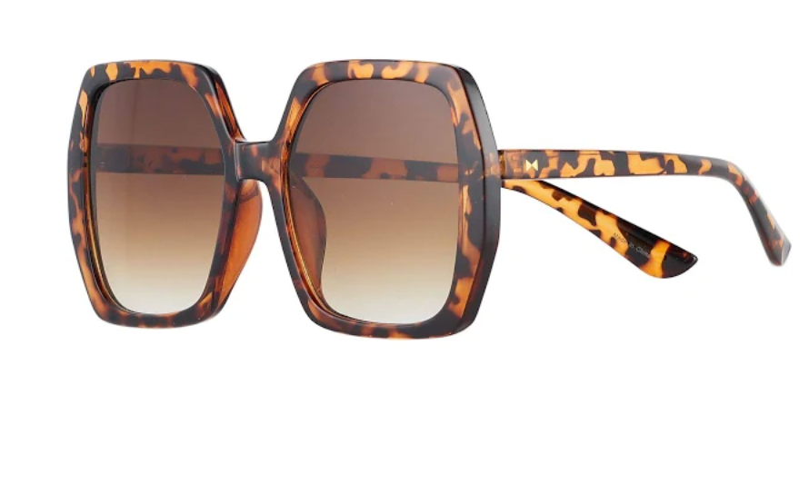 a large pair of sunglasses