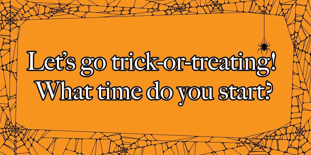 This Trick Or Treating Simulation Will Determine What You Should