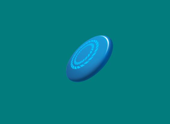 a frisbee emoji