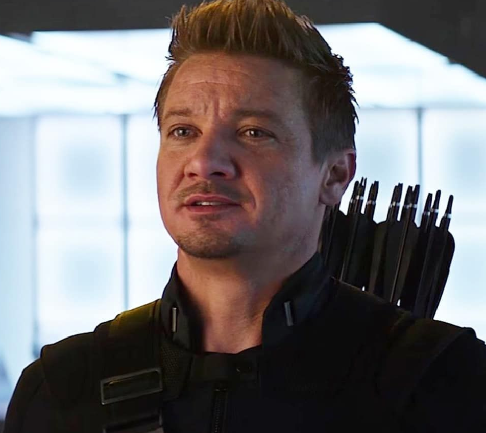 """Jeremy Renner as Clint Barton in the movie """"Captain America: Civil War."""""""