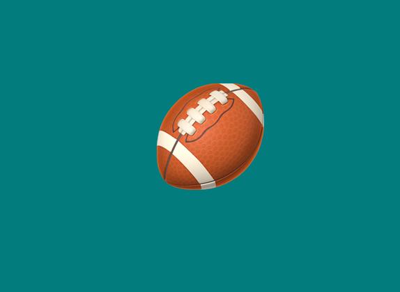 a football emoji