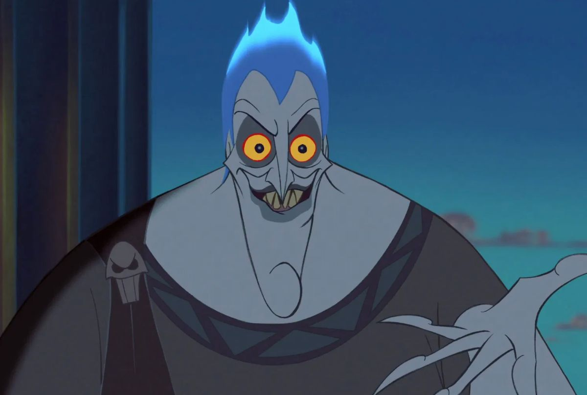 "James Woods voices Hades in the movie ""Hercules."""