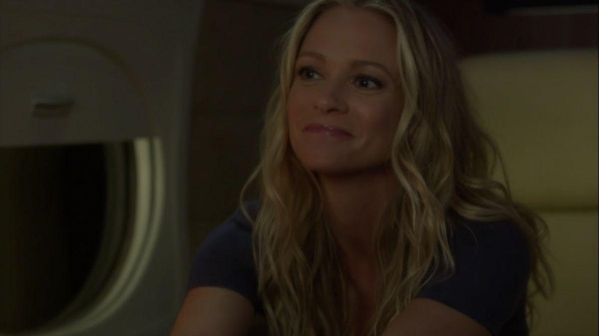 Jennifer smiles