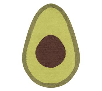 the avocado shaped rug