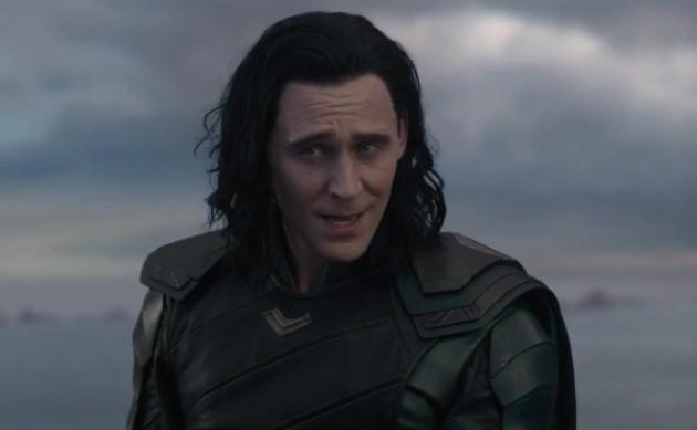 "Tom Hiddleston as Loki in the movie ""Thor: Ragnarok."""