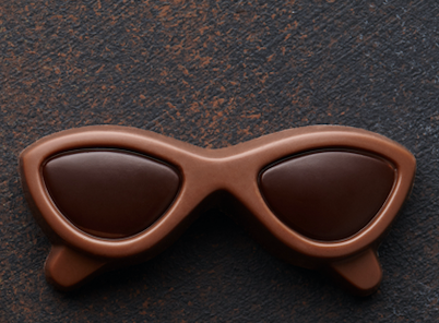 Small chocolate sunglasses