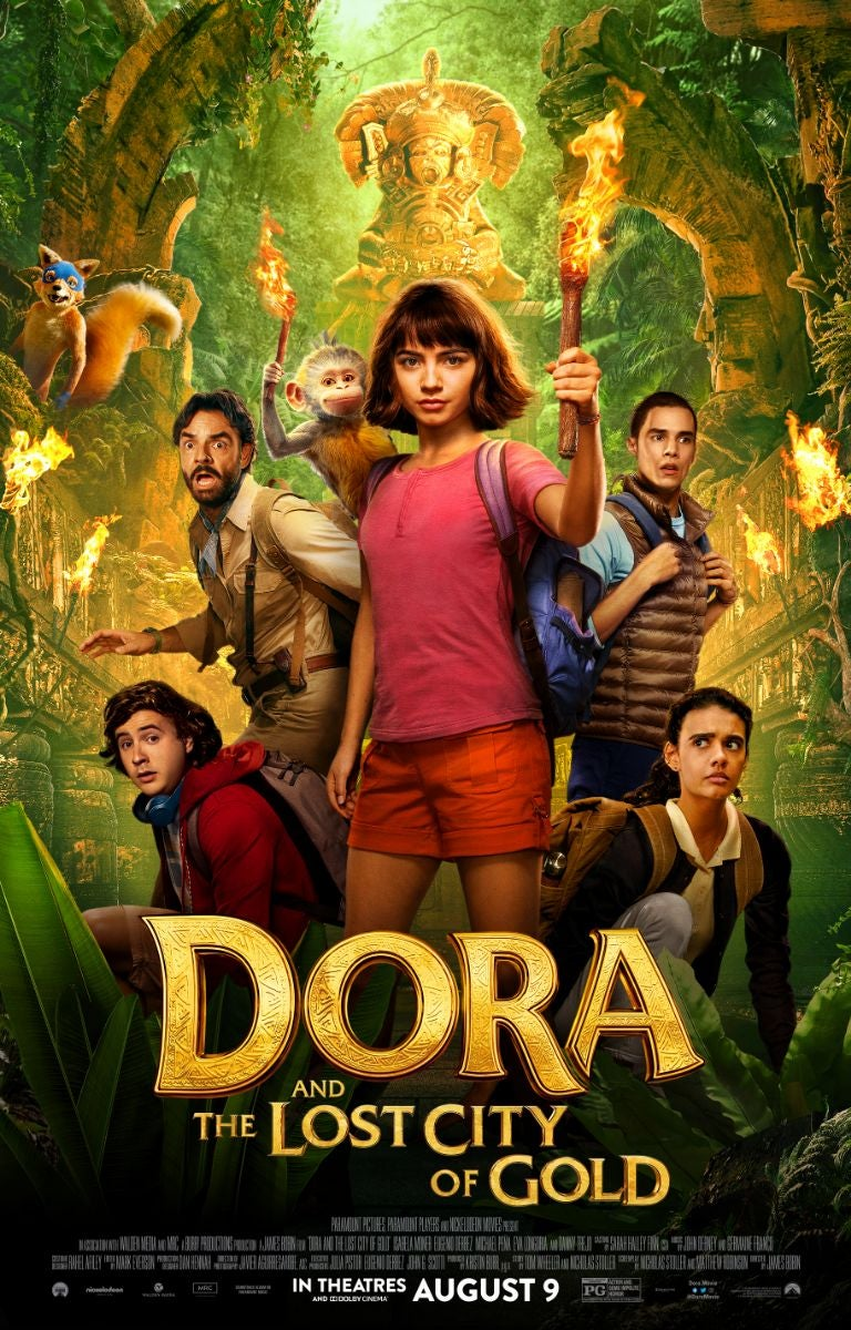Dora And The Lost City of Gold (2019) English WEBRip 1080p 720p 480p ESubs