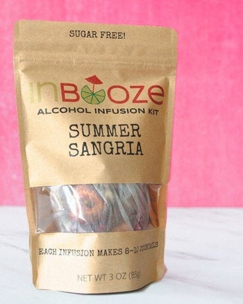 a pouch of summer sangria infusers