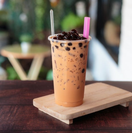 Thai tea boba