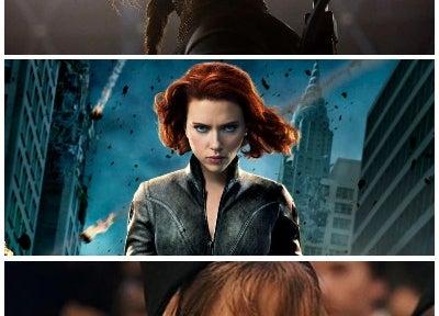 licensed by Lionsgate/Marvel Studios/Warner Bros.