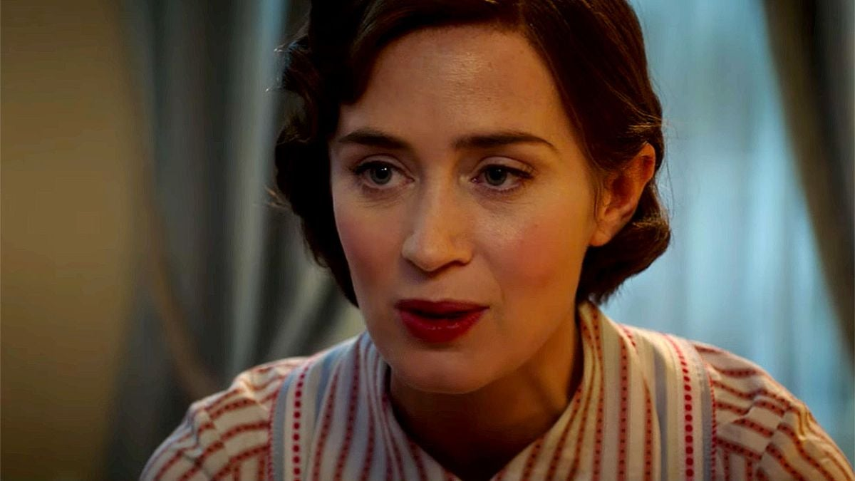 """Emily Blunt as Mary Poppins in """"Mary Poppins Returns"""""""