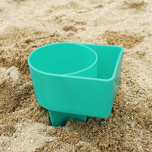 the mint holder with a cupholder section and a smaller section