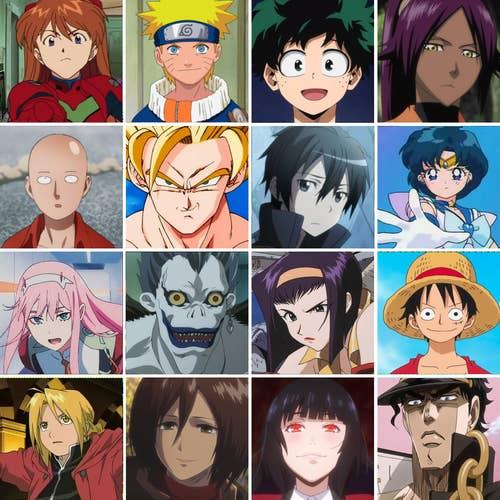 Si Puedes Reconocer A Todos Estos Personajes De Anime Eres Todo Un Weeb